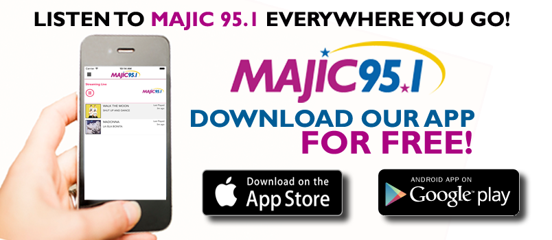 Majic 95 1 on the go majic 95 1 waji Majic app
