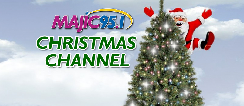 majic xmas channel web graphic