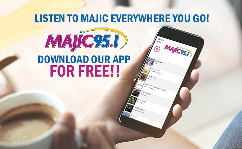 MAJIC 95.1 ON THE GO!
