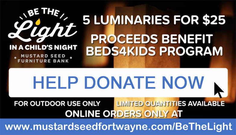 Be The Light in a Child's Night